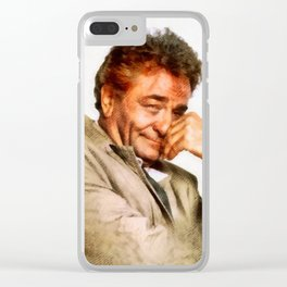 Peter Falk, Columbo by JS Clear iPhone Case