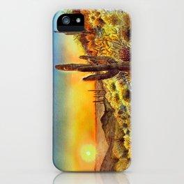Arizona's Sunset iPhone Case