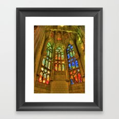 Sagrada Família, Barcelona, Spain Framed Art Print