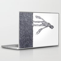 muscle Laptop & iPad Skins featuring Muscle Man by Nick Gibney
