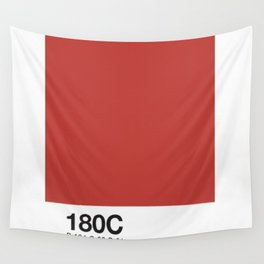 PANTONE COLOR PARODY COLOR- Angry makeup sex Wall Tapestry