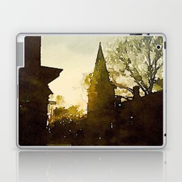 Cobblestone City Laptop & iPad Skin