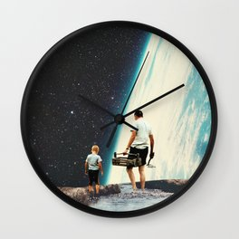 We will always Come Back here Wall Clock