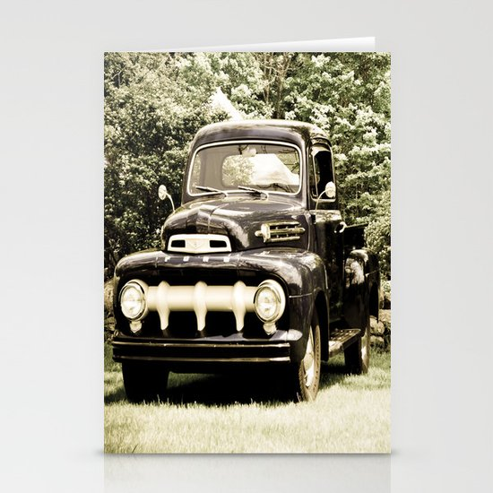Ford in a Field Stationery Cards