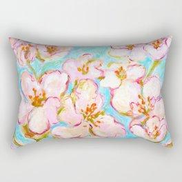 Cherry Blossom - painting by C. Stefan - ArtStudio29 Rectangular Pillow