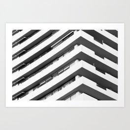 Center of the universe Art Print