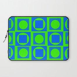 The Blue-Green Art Laptop Sleeve
