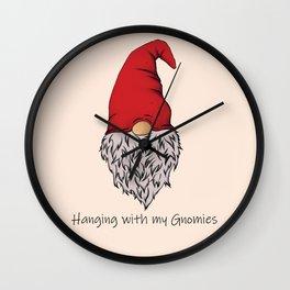 Garden Gnomie Wall Clock