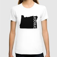 oregon T-shirts featuring Oregon by Isabel Moreno-Garcia
