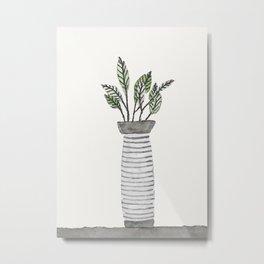 Vase 3 Metal Print