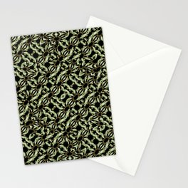 Modern Abstract Camouflage Patttern Stationery Cards