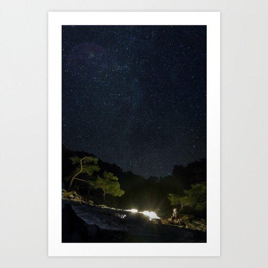 Chimaera and the Galaxy by esecamalich