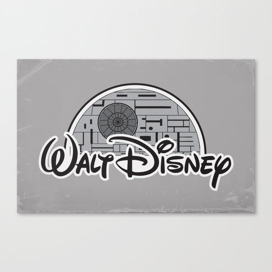 Walt Dislucasny Canvas Print