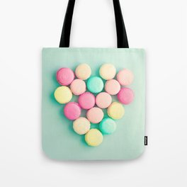 Macarons, macaroons heart II, pop art Tote Bag
