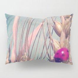 Pink Ladybug Pillow Sham