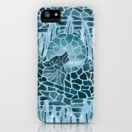 Moonlight Story (Light Blue) iPhone Case