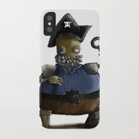 Iso, the Fat Captain iPhone X Slim Case