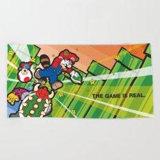 Inception Mario Beach Towel