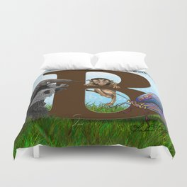 B is for Baby Baboon Duvet Cover