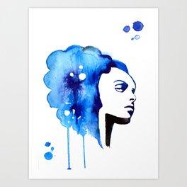 Cerious Art Print