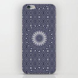 Steel Wheel Created in Blue-grey iPhone Skin