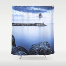 Seeking comfort Shower Curtain