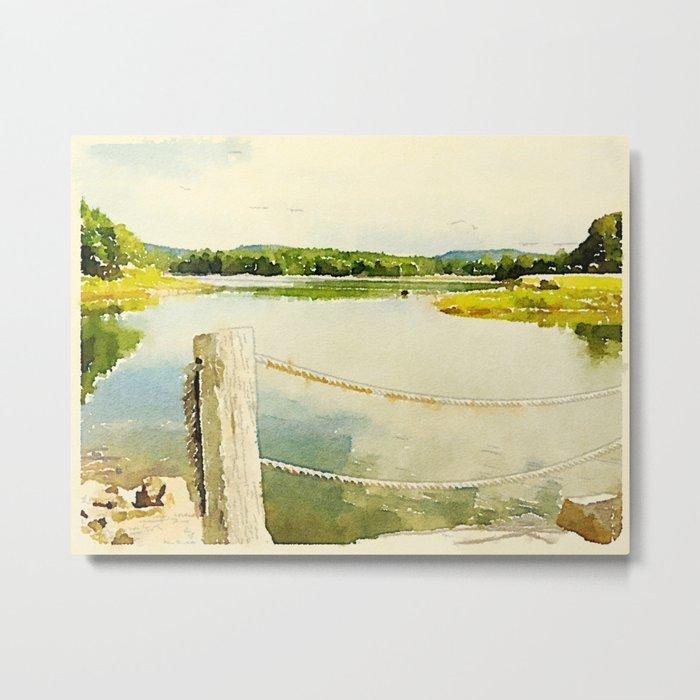 Somes Sound, Maine Metal Print