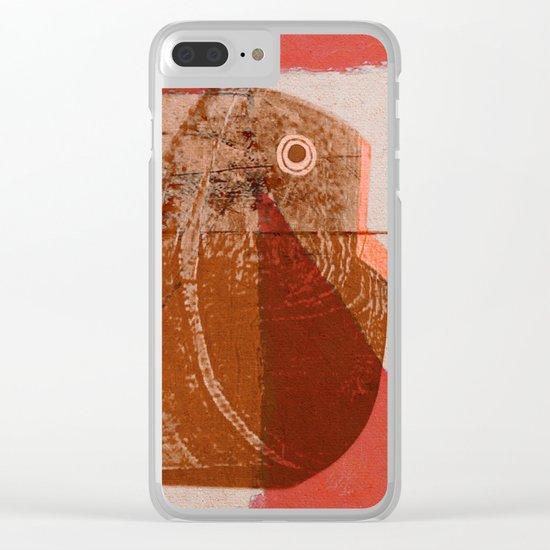 Testa dei Pesci Clear iPhone Case