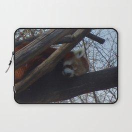 Sleeping red Panda Laptop Sleeve