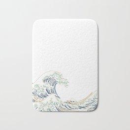 Minimal Wave Bath Mat