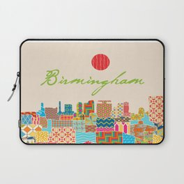 Birmingham Patchwork Laptop Sleeve
