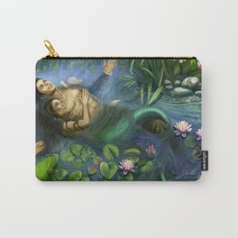 Michael and Lisa Marie Lily Pads Carry-All Pouch