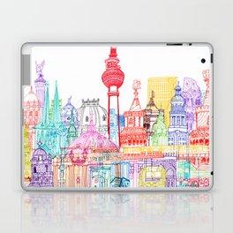 Berlin Towers Laptop & iPad Skin