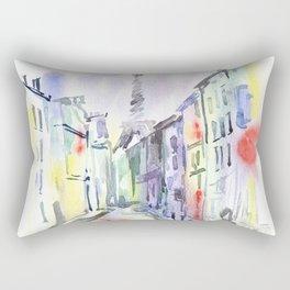 Paris street. Rectangular Pillow