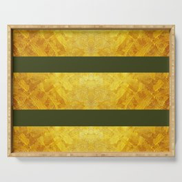 GOLD & CHIVE  Serving Tray