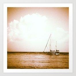 Ships Ahoy Art Print