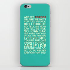 Friends iPhone & iPod Skin