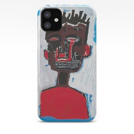 Red Boy after Basquiat iPhone Case