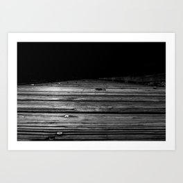 Boardwalk to the Unknown Art Print