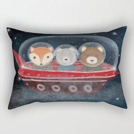 a little space adventure Rectangular Pillow