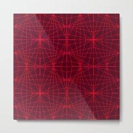 ELEGANT DARK RED GRAPHIC DESIGN Metal Print