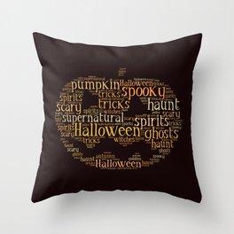 Halloween Jack Throw Pillow