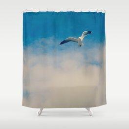 gull ible... Shower Curtain