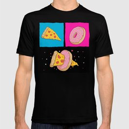 Pizza & Donut T-shirt
