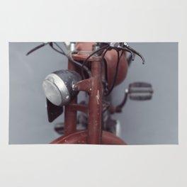 Fine art print, old moto interior design, hasselblad, still life, high quality photo (n°2) Rug