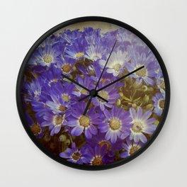 My boheme flowers / Mis flores bohemias Wall Clock