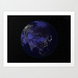 Our World 2 Art Print