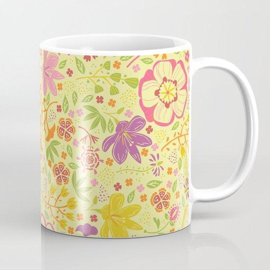 Oriental Blooms Mug