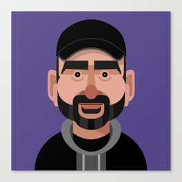 Comics of Comedy: Dave Attell Canvas Print