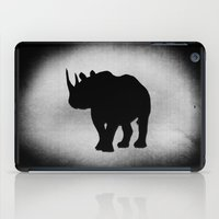 rhino iPad Cases featuring Rhino by LoRo  Art & Pictures